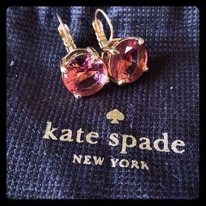 Gorgeous Kate Spade pink dangle earrings